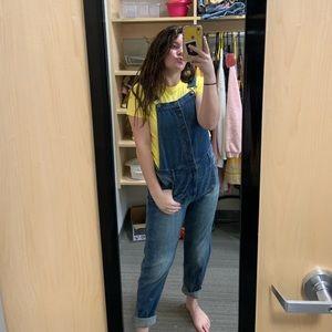 Jean overalls :))
